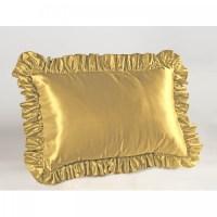 Satin Ruffled Pillow Sham | ShopBedding.com
