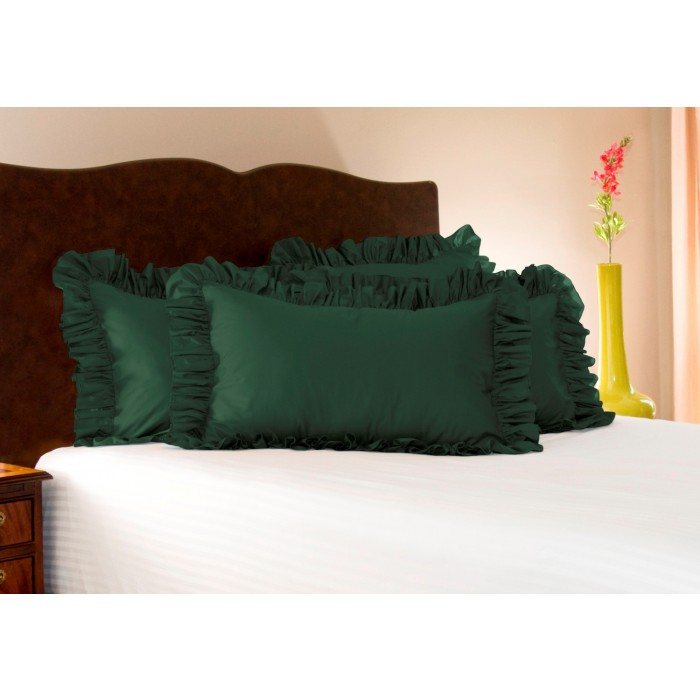 Solid Ruffled Pillow Sham  ShopBeddingcom