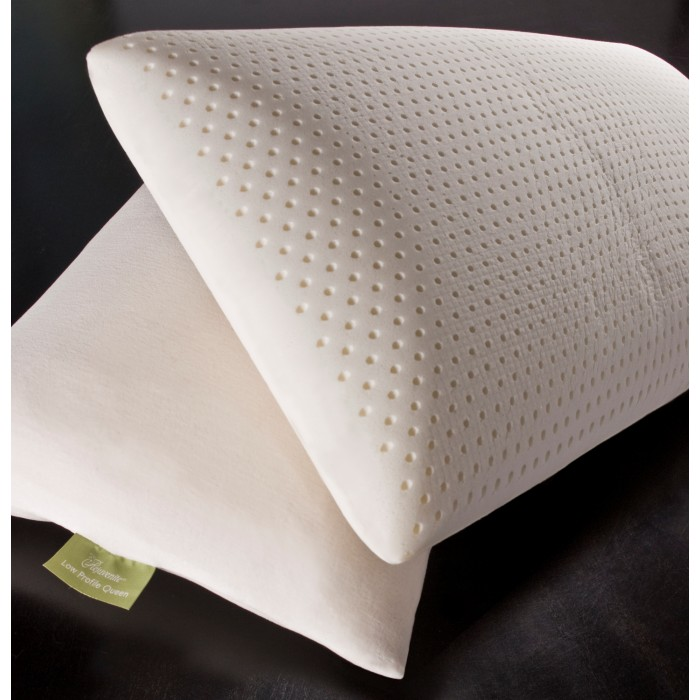 Rejuvenite Talalay Natural Low Profile Plush Latex Pillow
