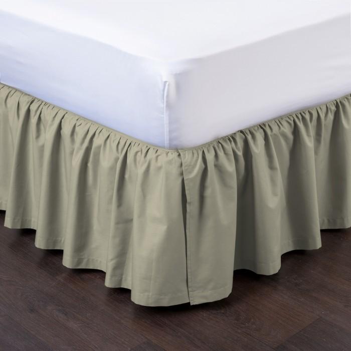 Ashton Detachable Ruffled Bed Skirt Ensemble