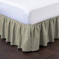 Kitchen Window Curtains Top Rated Appliances Ashton Detachable Ruffled Bed Skirt Ensemble | Shopbedding.com