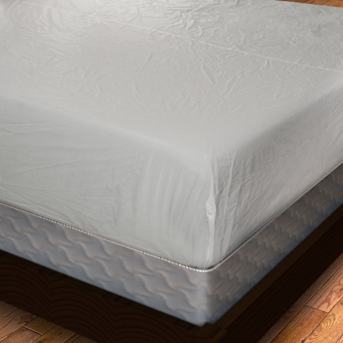 Vinyl Fitted Mattress Cover Heavy Gauge Shopbedding Com
