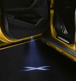 bmw led door light projectors [ 1100 x 1100 Pixel ]