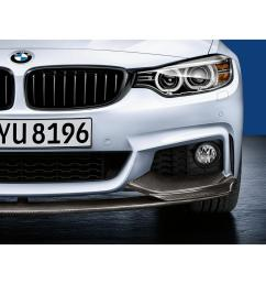 bmw m performance carbon fiber front splitter [ 1100 x 1100 Pixel ]
