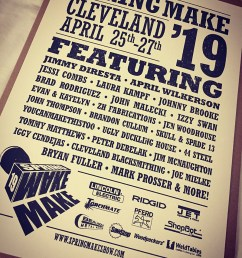 hone your craft build your brand this was the idea behind spring make 19 in cleveland ohio april 25th 27th as a first time sponsor of the event  [ 800 x 999 Pixel ]