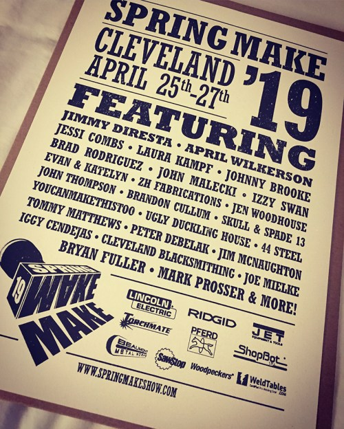 small resolution of hone your craft build your brand this was the idea behind spring make 19 in cleveland ohio april 25th 27th as a first time sponsor of the event