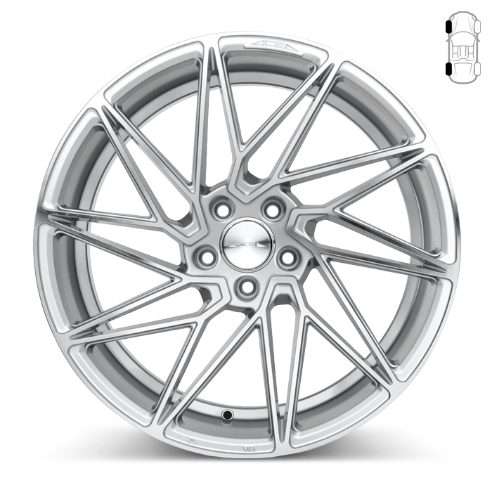 Ace Alloy Wheels DRIVEN Wheels for Genesis Coupe (20