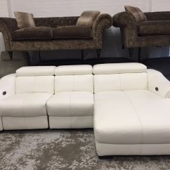 Ex Display Sofa Bed Uk Sound Bar Behind Elixir Electric 3 Seater Chaise