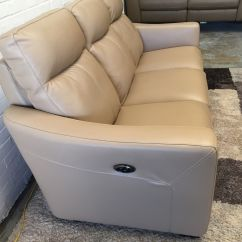 Ex Display Sofa Bed Uk Martini Leather Showroom Compact Collection Midi Electric