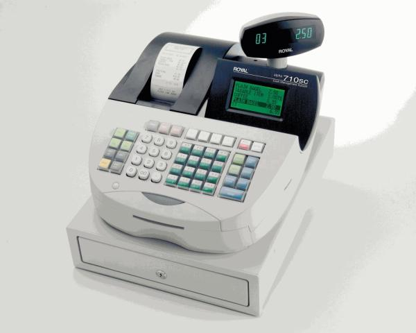 Royal Alpha Cash Register