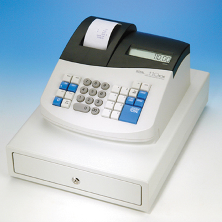 Royal 110CX Cash Register FREE SHIPPING  Cash Registers