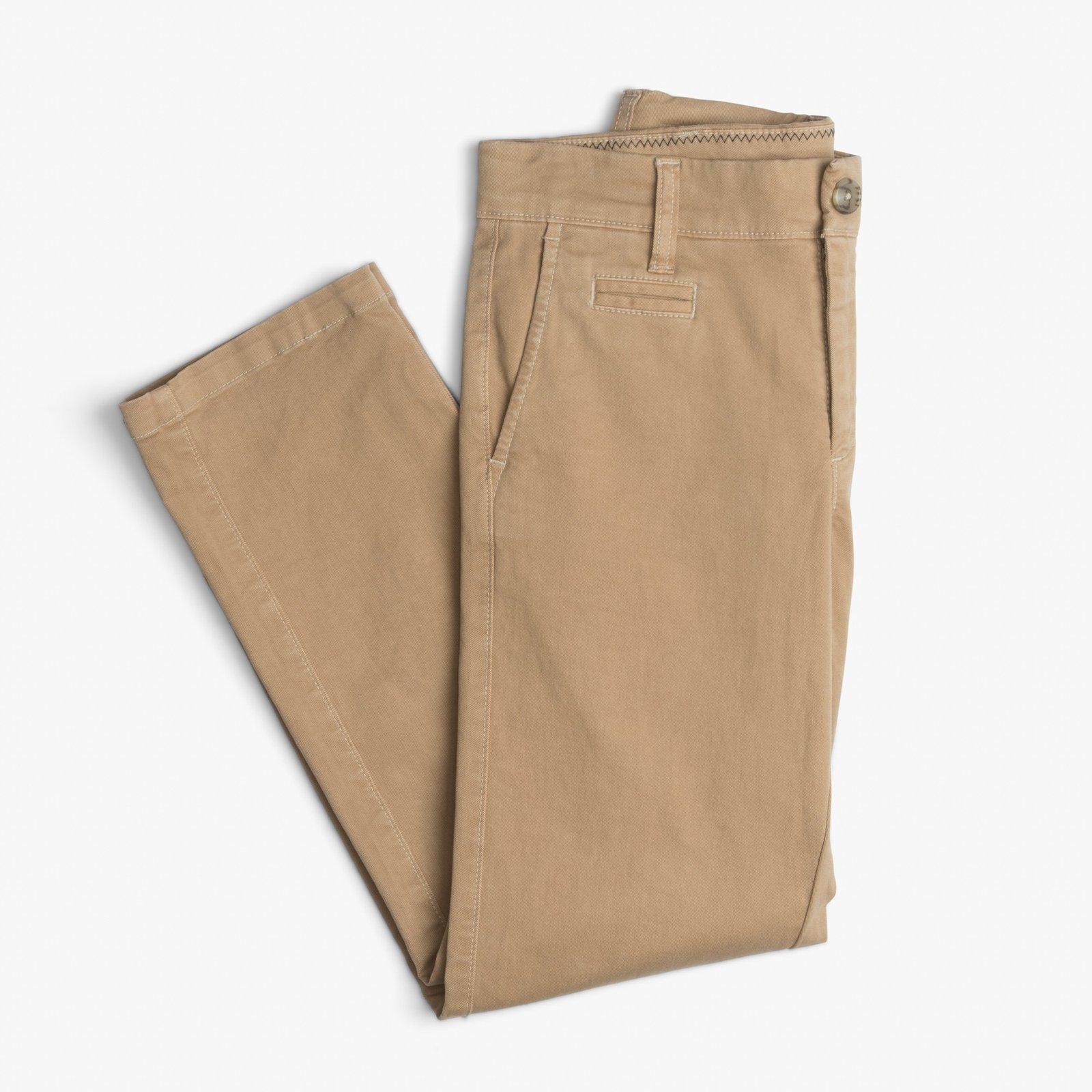 johnnie o khaki pants