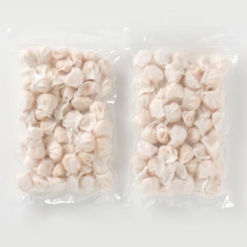 <110個> もちもち食感 海老たっぷり手包み餃子の内容