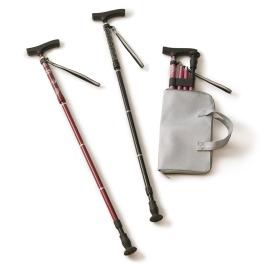 伸縮クッションで快適歩行 スカイステッキ スリムIII 交換用底ゴム増量セット