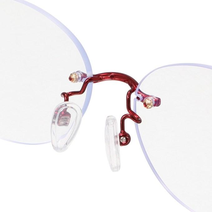 透明レンズの多機能サングラス アイブレラ クリアピュア レンズの透明度