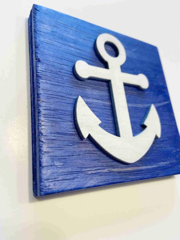 anchor nautical decor ocean decor anchor sign