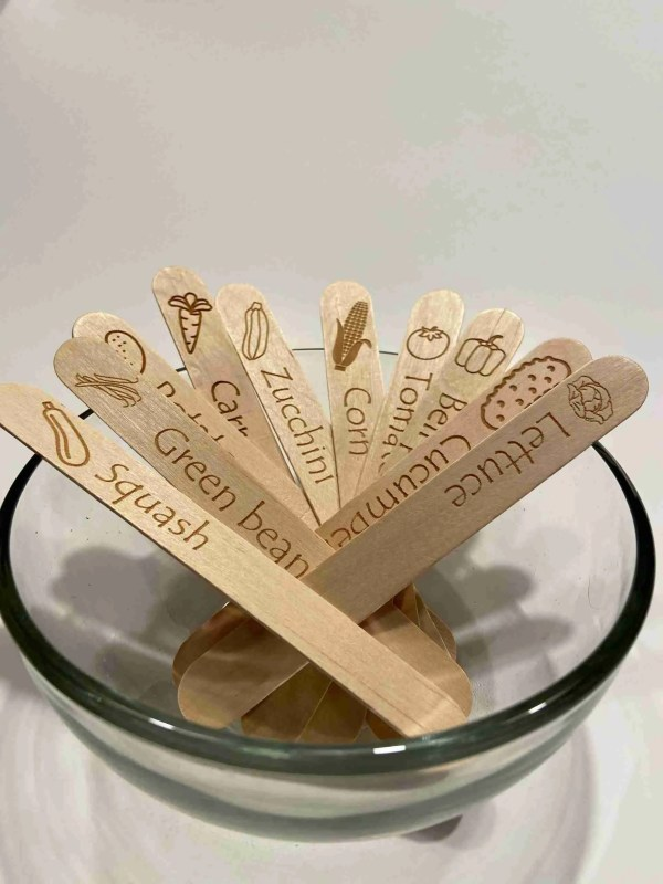 garden seed markers