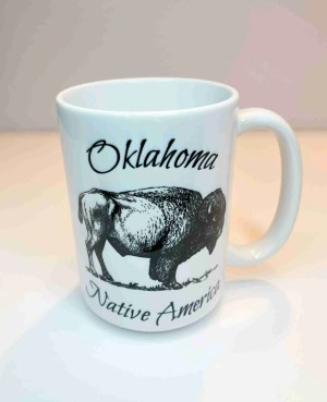 Oklahoma native America coffee mug