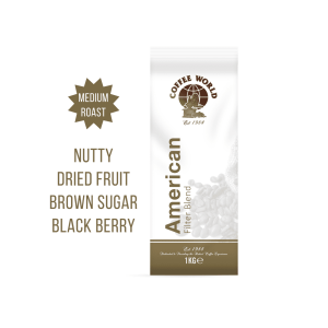 American Filter Blend - 1kg Coffee Beans - by Coffee World
