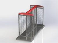 Wire Grid Gondola Shelving - SHOPCO U.S.A., Inc.