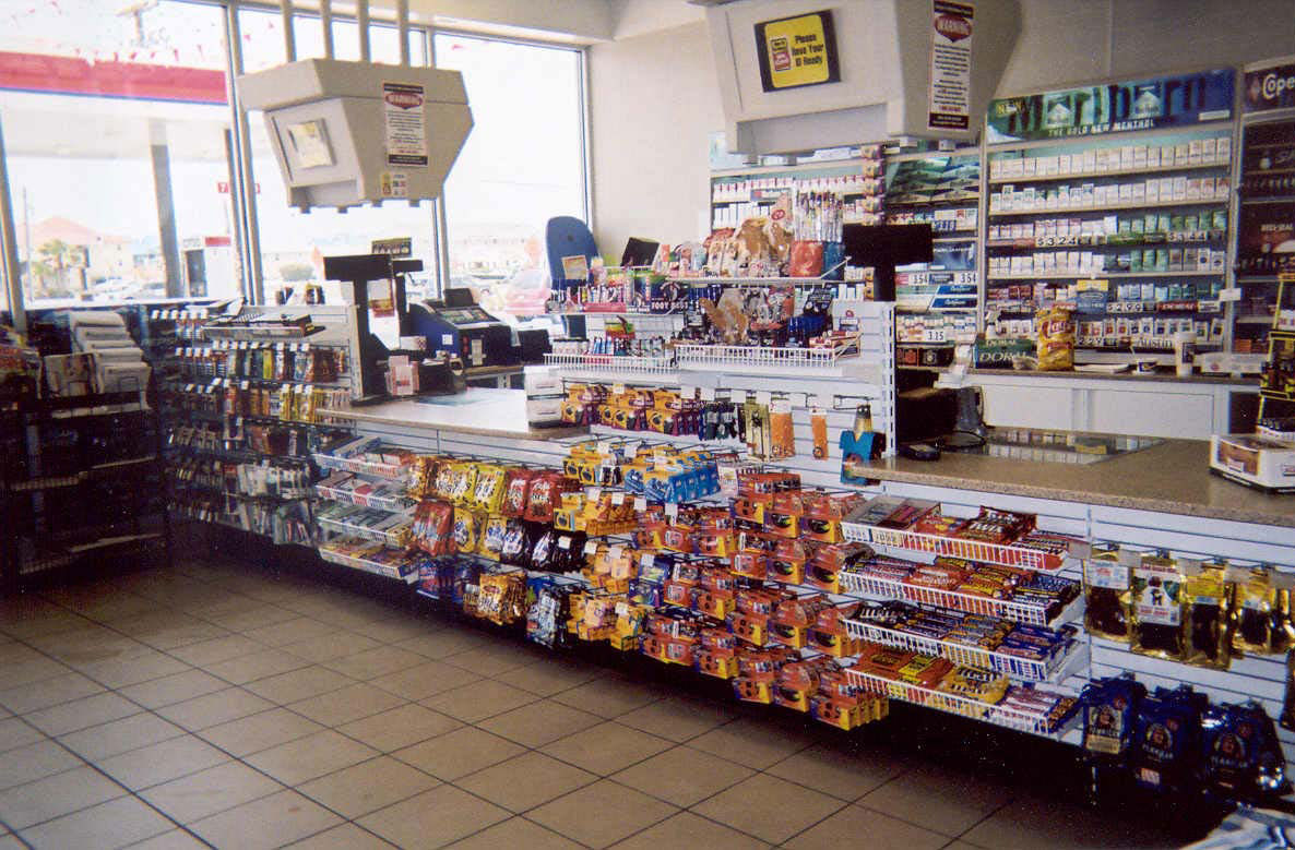 Retail Sales Counters  Checkout Counters for Convenience Stores