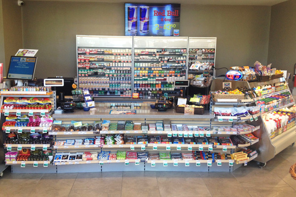 Checkout Counters Gondola Shelving Store Fixtures