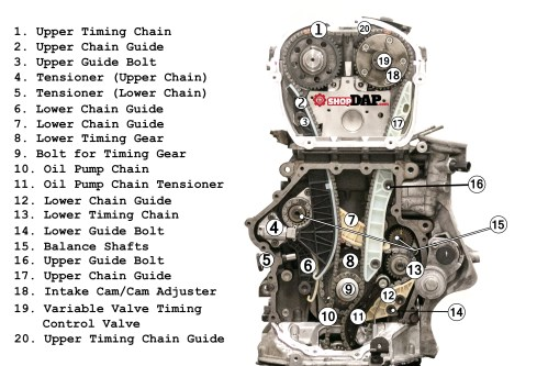 small resolution of 2 0t tsi timing chain component diagram for vw and audi articles audi 2 0t engine diagram audi engine diagram