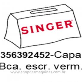 Capa de maquina de costura Singer