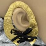 corset earcuff on ear
