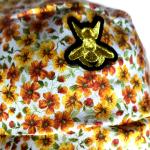 Cottagecore sun hat closeup