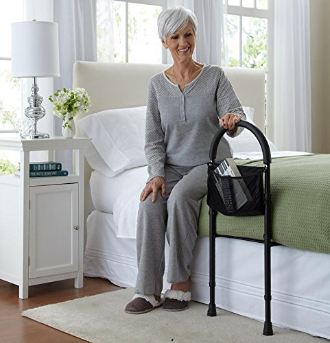 riser recliner chairs for the elderly reviews sitting on a balance ball instead of chair safety bed rail review ~ shop disability