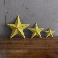 Decorative Nostalgic Outdoor Star Wall Decor Metal Stars ...