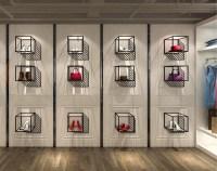 Professional Shoe Display Shelves Shoe Shop Window ...