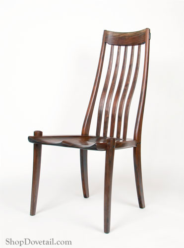 handmade wooden chairs tall chair for standing desk shopdovetail wood dining with carved seat