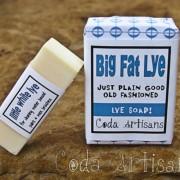 Big Fat Lye Soap - Little White Lye Soap