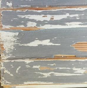 Pure White and Paris Grey Chalk Paint Wax Resist