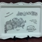 IOD and Annie Sloan decorated silver tray