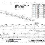 CAD examples DM 1711 00020 - Steel Detailing Drawings