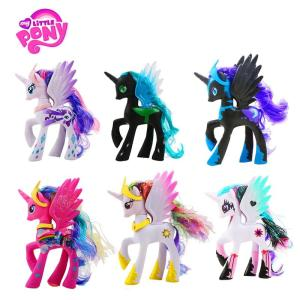 14cm Hasbro My Little Pony Toys Rainbow Unicorn - ShopeeBazar