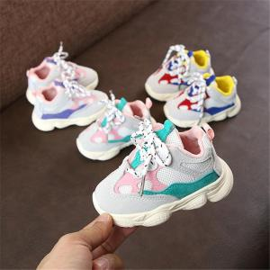 Baby Girl Boy Toddler Running Shoes Soft Bottom Comfortable Sneaker - ShopeeBazar