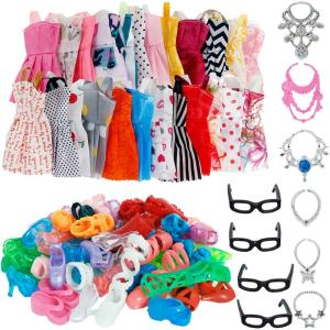 30 Item/Set For Barbie Doll - ShopeeBazar