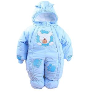 Autumn & Winter Newborn Infant Baby Clothes Fleece Animal Style Clothing Romper - ShopeeBazar
