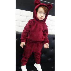 2018 Autumn Winter Girls Clothes Hoodies+Pants Christmas Outfit - ShopeeBazar