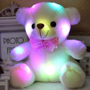 20CM Colorful Glowing  Luminous Plush Baby Toys Lighting - ShopeeBazar