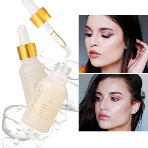 24k Rose Gold Elixir Skin Make Up Oil For Face Essential gold Before Primer Foundation - ShopeeBazar