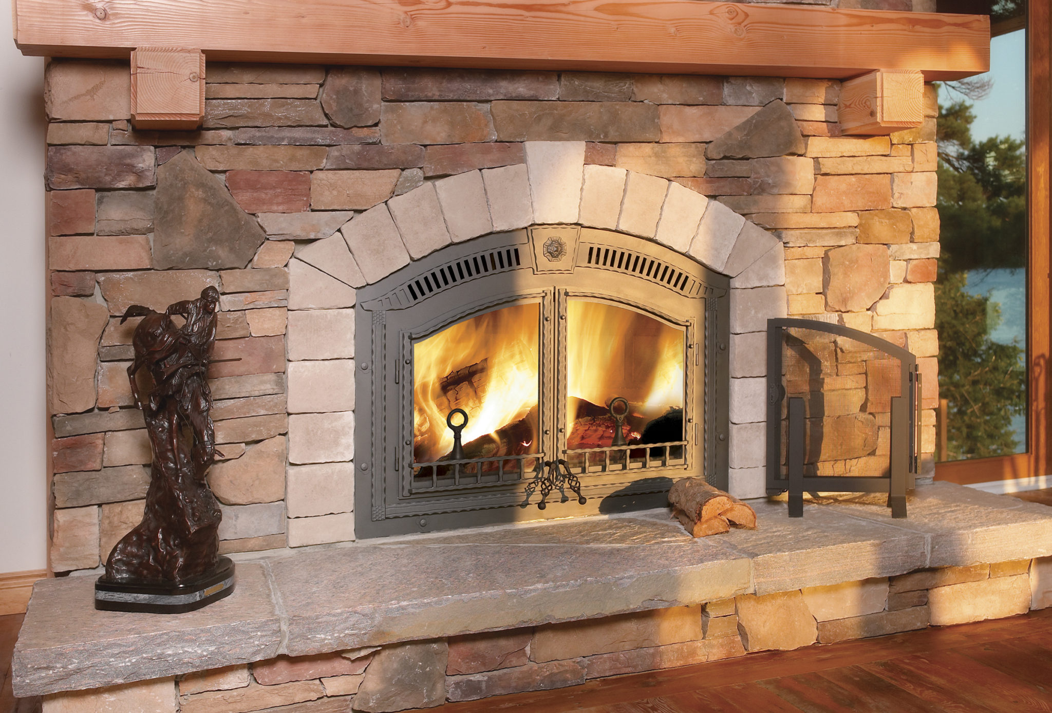 Napoleon High Country 6000 Wood Burning Fireplace  ShopFireplaceCom