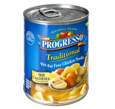 Progresso Traditional Chicken Noodle Soup 99 Fat Free 19