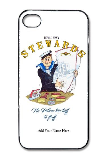 Steward cartoon hard phone cover 1