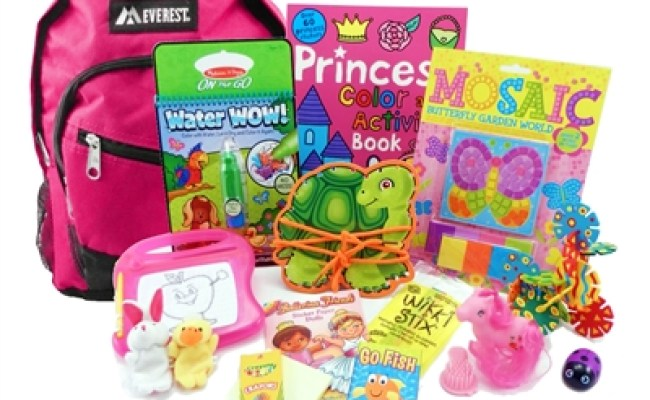 The Pack For 3 To 5 Year Old Girls Is A Child Sized
