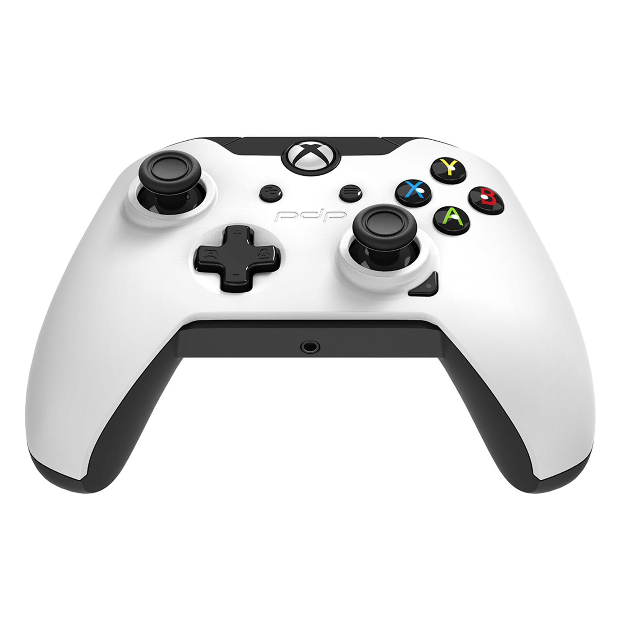 Xbox One – Controller – Wired – 3.5mm White (PDP) – Game World
